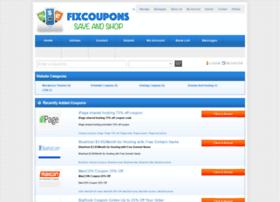 fixcoupons.com
