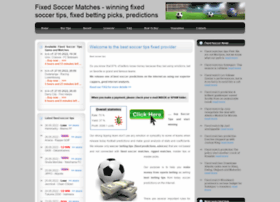 fixedsoccermatches.com