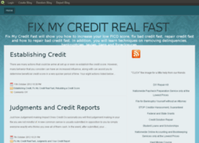 fixmycreditrealfast.blog.com