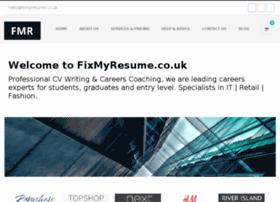 fixmyresume.co.uk