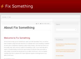 fixsomething.com