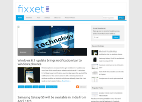 fixxet.blogspot.in