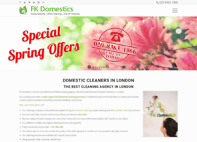 fkdomestics.co.uk