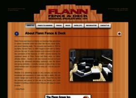 flannfenceanddeck.com