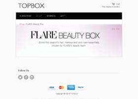 flarebeautybox.com