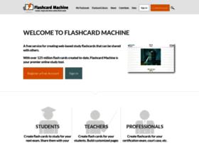 flashcardmachine.com