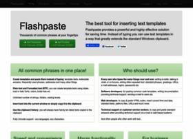 flashpaste.com