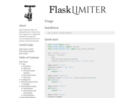 flask-limiter.readthedocs.org