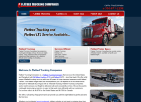 flatbedtruckingcompanies.net