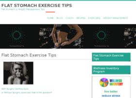 flatstomachexercisetips.com