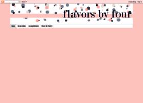flavorsbyfour.blogspot.com