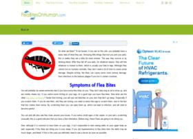 fleabitesonhuman.com