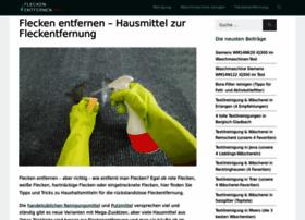 flecken-entfernen.info