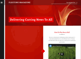 fleetingmagazine.com