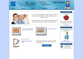 flexiroster.com