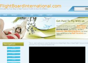 flightboardinternational.com