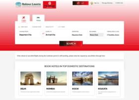 flights.balmerlawrietravel.com