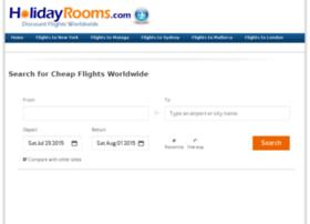 flights.holidayrooms.com