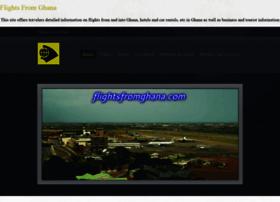 flightsfromghana.com