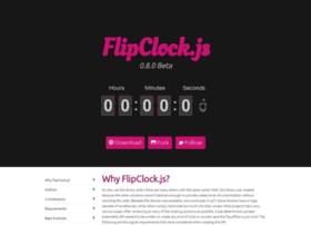 flipclockjs.com
