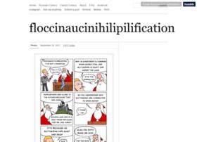 floccinaucinihilipilificationa.tumblr.com