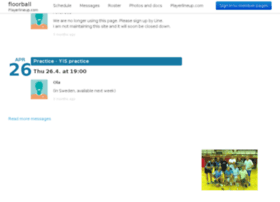 floorball.playerlineup.com