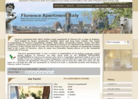 florenceapartmentitaly.com