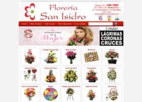 floreriasanisidro.com