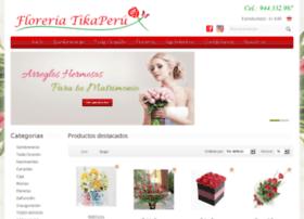 floreriatikaperu.com