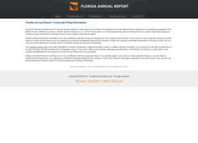 Florida-annual-report.com