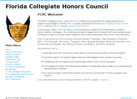 floridacollegiatehonorscouncil.org