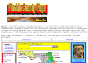 Floridacountiesmap.com