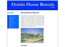 floridahouserentals.co.uk