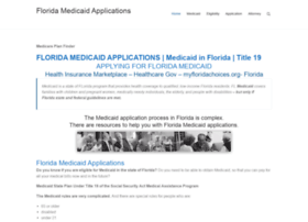 floridamedicaidapplications.com