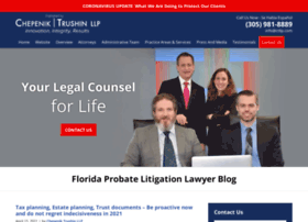 floridaprobatelitigationlawyer.com