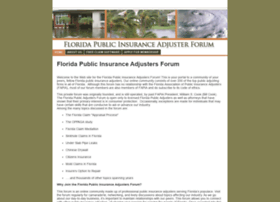 floridapublicinsuranceadjusterforum.com