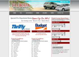 floridascarrentals.com