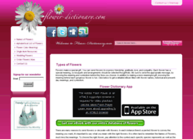flower-dictionary.com