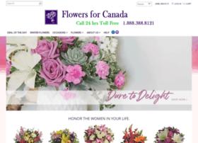 flowersforcanada.com