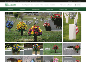 flowersforcemeteries.com