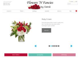 flowersnfanciesbycaroll.com