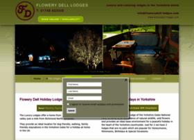 flowerydell-lodges.com