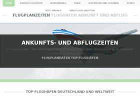 flugplanzeiten.com