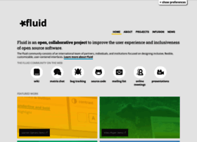 fluidproject.org
