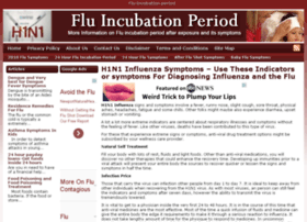 fluincubationperiod.org