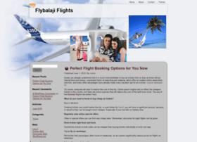 flybalaji.com