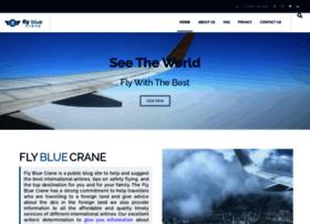 flybluecrane.com