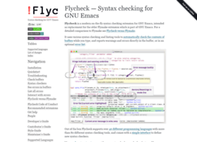 flycheck.readthedocs.org