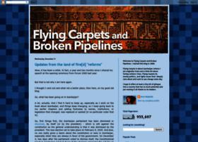 flyingcarpetsandbrokenpipelines.blogspot.com