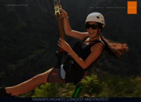 flyinhawaiianzipline.com